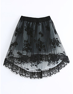 Girls' Lace Skirt-Cotton Summer