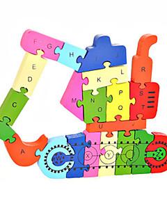 Puzzles Kit de Bricolage Blocs de Construction Jouets DIY  Pelleteuse