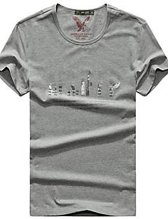 Miesten T-paita Kalastus Hengittävä Kesä