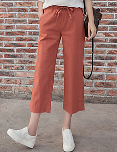Women's High Rise Stretchy Chinos Pants,Vintage Wide Leg Pleated Solid
