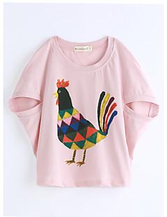 Bavlna Zvířecí Léto Košilky,Krátký rukáv