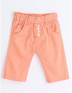 Drenge Shorts Ensfarvet-Bomuld Sommer