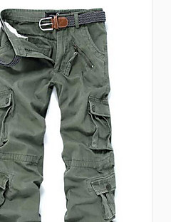 Men's High Rise strenchy Chinos Pants,Street chic Loose Solid