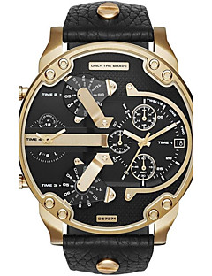בגדי ריקוד גברים לזוג שעוני ספורט שעונים צבאיים שעוני שמלה שעוני אופנה שעון יד שעון צמיד ייחודי Creative צפה שעונים יום יומיים קווארץלוח