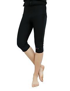 Herre Shorts til jogging Hold Varm Shorts til Taekwondo Trening & Fitness Fløyel Tett Svart S M XL