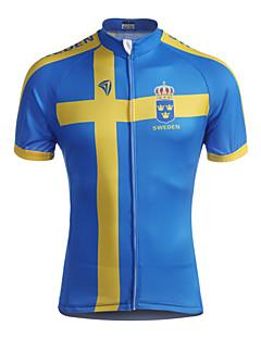 Kooplus Camisa para Ciclismo Homens Manga Curta Moto Camisa/Roupas Para Esporte Blusas Zíper á Prova-de-Água Zíper Frontal Vestível