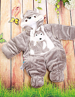 bébé Enfant Naissance Baptême Décontracté / Quotidien Image de Cartoon Une-Pièce,Dessin Animé Hiver