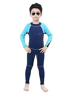 Sportif Enfant 2mm Combinaison  Intégrale Respirable Séchage rapide Design Anatomique Néoprène Tenue de plongée Manches longues