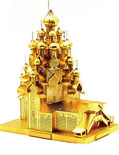 Puslespill GDS-sett 3D-puslespill Metallpuslespill Byggeklosser GDS-leker Arkitektur