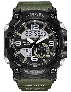 Pánské Děti Sportovní hodinky Vojenské hodinky Módní hodinky Digitální hodinky japonština DigitálníKalendář Chronograf Voděodolné Stopky