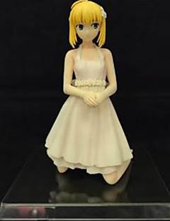 アニメのアクションフィギュア に触発さ Fate/zero Saber ポリ塩化ビニル 16 cm モデルのおもちゃ 人形玩具