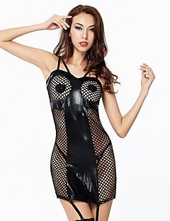 ŽeneSeksi spavaćica / kineska haljina Babydoll / slip haljina Potkošulja / ogrtač Donje rublje s podvezicom Čipkasto donje rublje Mekani