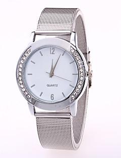 Dámské Módní hodinky čínština Křemenný Nerez Kapela Cool Běžné nošení Stříbro