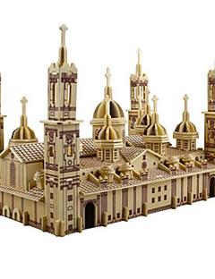 GDS-sett 3D-puslespill Puslespill Leketøy Kirke Arkitektur 3D GDS simulering Uspesifisert Unisex Deler