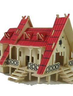 3D-puslespill Puslespill Leketøy Rektangulær Kjent bygning Arkitektur 3D Uspesifisert Deler