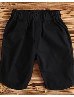 Boys' Solid Pants-Cotton Summer