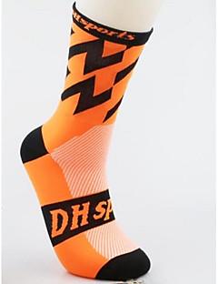 Kolo/Cyklistika Ponožky Anatomický design Lehký Prodyšnost elastan Nylon Běhání Cyklistika Jaro Léto