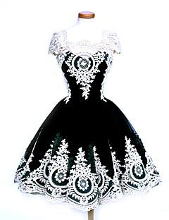 Yksiosainen/Mekot Gothic Lolita Söpö Lolita Klassinen ja Perinteinen Lolita Punk LolitaVintage-kokoelma Tyylikäs Viktoriaaninen Rokokoo