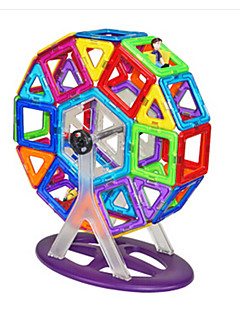 Bouwblokken Voor cadeau Bouwblokken Cirkelvormig Kunststoffen 6 jaar en ouder Speeltjes