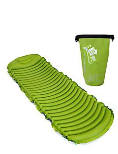 משטח מתנפח מזרן לשינה מחנאות וטיולים PVC עמיד ללחות קל במיוחד (UL) מתנפח נוח כל העונות פלנל