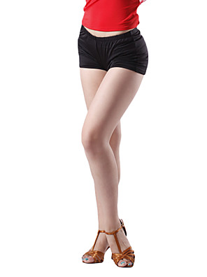 ריקוד לטיני חלקים תחתונים בגדי ריקוד נשים אימון ויסקוזה טבעי