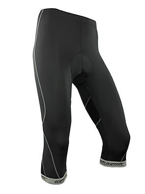 SANTIC® טייץ3/4לרכיבה לגברים / יוניסקס אופניים נושם / ייבוש מהיר / לביש מכנסיים / 3/4 טייץ / תחתיות ספנדקס / פוליאסטר / LYCRA® / Coolmax