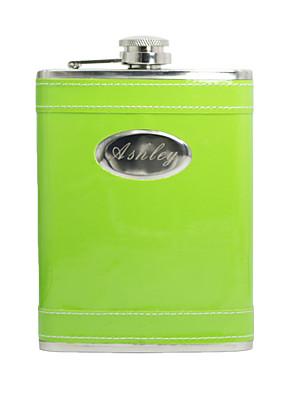 Koszorúslány Ajándékok Darab / Set Flaska Klasszikus Esküvő / Születésnap Rozsamentes acél Személyre szabott Flaska Zöld PVC táska