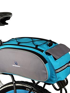 ROSWHEEL® Bolsa de Bicicleta 13LLMala para Bagageiro de Bicicleta/Alforje para BicicletaÁ Prova-de-Água / Lista Reflectora / Bolsa Kettle