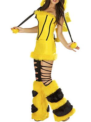 Cosplay Kostýmy / Kostým na Večírek Zvířecí Festival/Svátek Halloweenské kostýmy Žlutá Jednobarevné / PatchworkVrchní deska / Sukně /