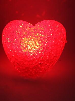 casamento cristal decoração de estilo coração da luz vermelha