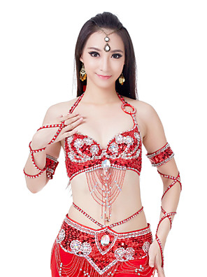 Acessórios de Dança Luvas de Dança Mulheres Treino Poliéster