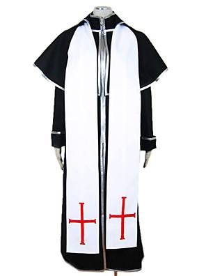Cosplay Kostýmy / Kostým na Večírek Upír Festival/Svátek Halloweenské kostýmy Bílá Patchwork Kalhoty / Přehoz / šála či šátek Halloween