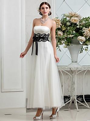 Lanting Bride® A-Linie Drobná / Nadměrné velikosti Svatební šaty - Klasické & nadčasové / Okouzlující & dramatické / Šaty na hostinuPo