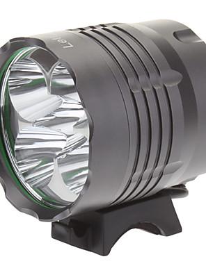 Iluminação Lanternas de Cabeça / Luzes de Bicicleta LED 4000 Lumens 3 Modo Cree XM-L T6 18650.0Campismo / Escursão / Espeleologismo / Uso