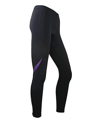 גרביונים הרכיבה על אופניים של santic-נשים / מכנסיים סטרץ chinlon בטנת צמר חם תרמית