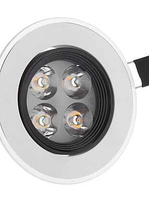 4 Plafondlampen (Warm Wit
