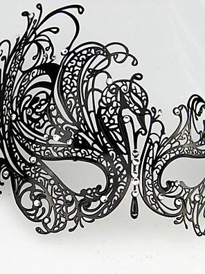 Masker Festival/Feestdagen Halloween Kostuums Zwart Masker Halloween / Carnaval Unisex Metaal