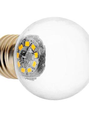1.5W E26/E27 LED-bollampen 9 SMD 2835 90 lm Warm wit AC 220-240 V