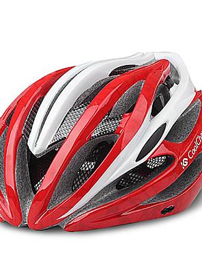 פתחי אוורור CoolChange 23 האדום EPS Ajustable רכיבה על אופניים קסדה