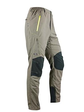 SANTIC® Cyklo kalhoty Pánské Jezdit na kole Prodyšné / Rychleschnoucí / Reflexní pásky Kalhoty / Spodní část oděvu 100% polyester