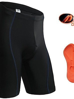 JAGGAD® מכנס קצר מרופד לרכיבה לנשים / לגברים / יוניסקס אופניים נושם / ייבוש מהיר / כיס אחורימכנסיים קצרים / שורטים (מכנסיים קצרים)