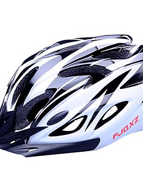 FJQXZ Dámské / Pánské / Unisex Jezdit na kole Helma 18 Větrací otvory Cyklistika Cyklistika / Silniční cyklistikaVelikost M: 55-59 cm; /