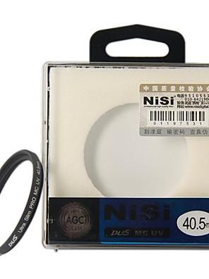 NISI 40,5 mm MC UV Ultra Violet Ultra-dünne doppelseitige Multilayer-Beschichtung Objektiv-Filter-Schutz für Nikon Canon Sony-Kameras