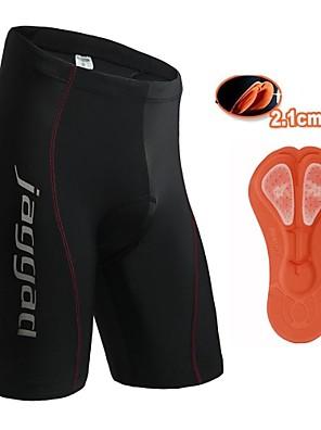 Shorts / Fundos (Preto) - de Ciclismo - Unissexo / Homens / Mulheres - Respirável / Secagem Rápida / Bolso Traseiro / Tapete 3DVerão /