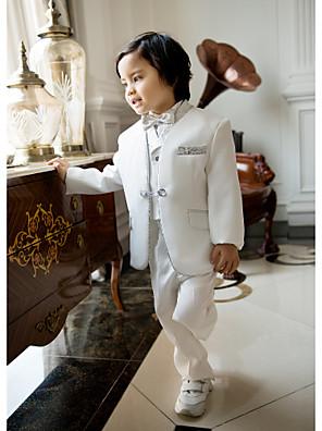 תערובת פוליאסטר / כותנה חליפה לנושא הטבעת - 5 חתיכות כולל ג'קט / חולצה / וסט / מכנסיים / עניבת פרפר