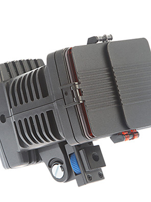 LED-5080 Camera Video Light NP-F750 Accu met 8 Bollen lader voor DV Camera Camcorder
