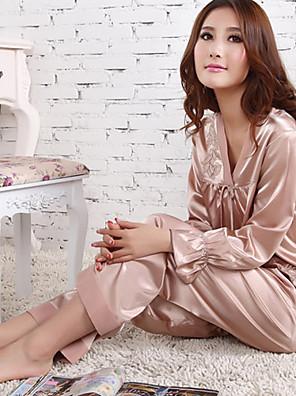 Ženy Akryl/Krajka/Umělé hedvábí Tenké Pyžama