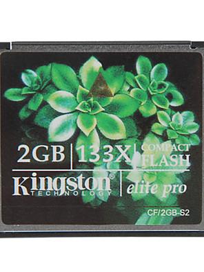 כרטיס Kingston 2GB האליטה פרו 133x קומפקט פלאש זיכרון cf