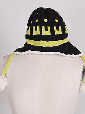 כובע קיבל השראה מ Dramatical Murder Noiz אנימה / משחקי וידאו אביזרי קוספליי כובע שחור צמרי זכר