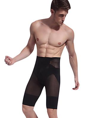 male butt-lifting stovepipe formování štíhlé tělo formovat kalhoty cincher pasu nově příchozí Bodie bavlněné černé ny025